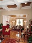 Classic Traditional Living Room & Dining Room